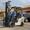 Вилочный газ-бензиновый автопогрузчик Nissan с новой резиной #1697962