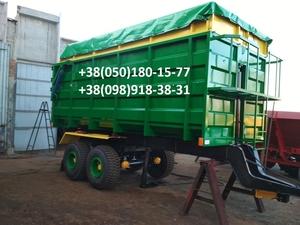Прицеп на трактор МТЗ, ЮМЗ, тракторный самосвал зерновоз . - Изображение #4, Объявление #1684839