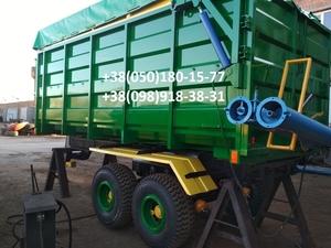 Прицеп на трактор МТЗ, ЮМЗ, тракторный самосвал зерновоз . - Изображение #8, Объявление #1684839
