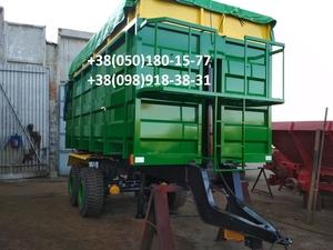 Прицеп на трактор МТЗ, ЮМЗ, тракторный самосвал зерновоз . - Изображение #3, Объявление #1684839