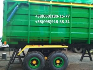 Прицеп на трактор МТЗ, ЮМЗ, тракторный самосвал зерновоз . - Изображение #2, Объявление #1684839