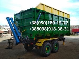 Прицеп на трактор МТЗ, ЮМЗ, тракторный самосвал зерновоз . - Изображение #1, Объявление #1684839