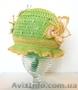 летние панамки,  шапочки ручной вязки
