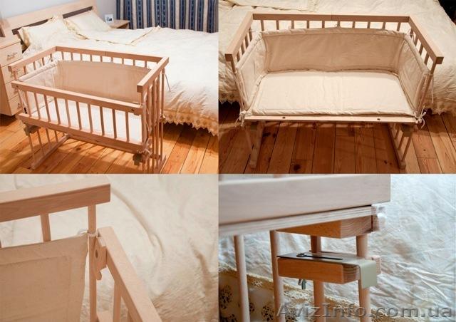 Сделать кровать для новорожденного своими руками 35