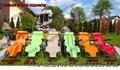 Качественный шезлонг различных цветов