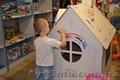Игровой домик,  домик-разкраска - сохраните обои в своем доме!!!