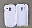 белый пластмассовый чехол для Samsung Galaxy S3 mini I8190