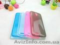 Полупрозрачный TPU силиконовый чехол Lenovo S650 IdeaPhone